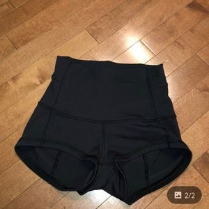 High waisted lululemon shorts